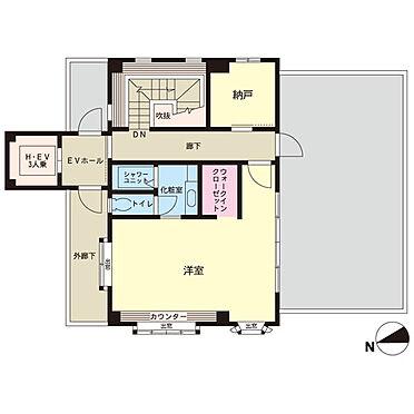マンション(建物一部)-足立区東綾瀬2丁目 4階