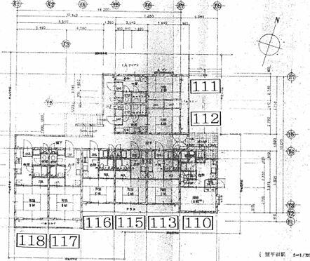 マンション(建物全部)-目黒区東が丘1丁目 間取り