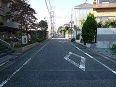 前面道路  2016年10月撮影