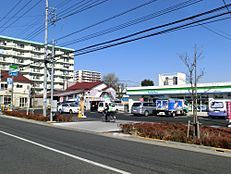 コンビニエンスストアファミリーマート西東京谷戸町店まで585m
