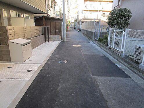 アパート-大田区大森北3丁目 東側公道約4.00m/約7.17m接道