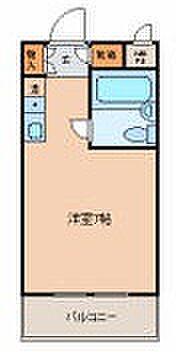 マンション(建物一部)-熊本市中央区新大江1丁目 間取り