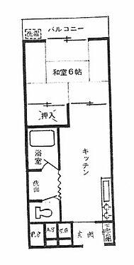 マンション(建物一部)-松戸市西馬橋広手町 間取り