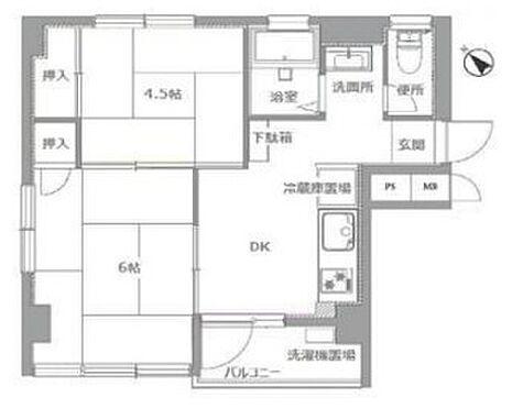 マンション(建物一部)-豊島区池袋4丁目 間取り
