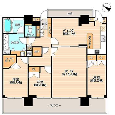 マンション(建物一部)-横浜市神奈川区栄町 42階建タワーマンション最上階