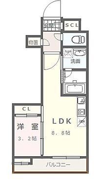 マンション(建物全部)-福岡市中央区今川1丁目 1LDKタイプ 2・3号室(3号室は反転)