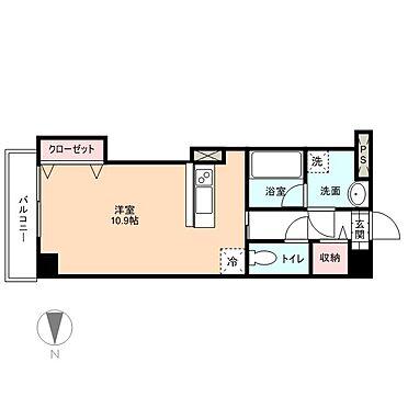 マンション(建物一部)-富山市五福 間取り