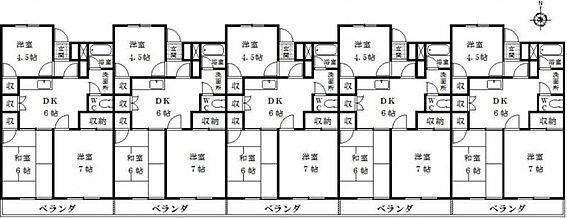 マンション(建物全部)-山県市高富 間取り