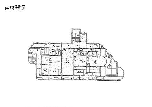 マンション(建物全部)-大阪市東淀川区東淡路1丁目 間取り