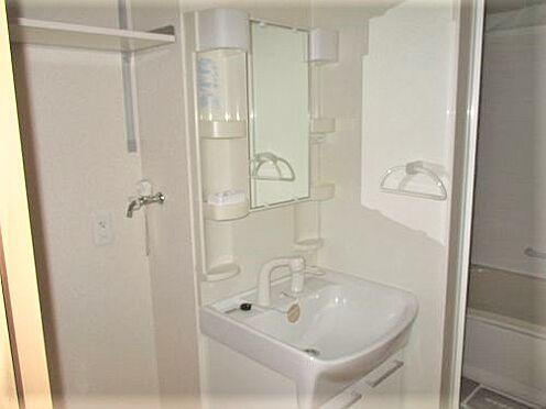 アパート-防府市岩畠2丁目 シャワー付き洗面台