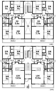 マンション(建物全部)-大崎市古川諏訪 間取り