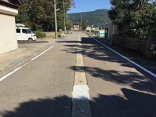 アパート-白山市知気寺町 前面道路