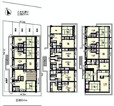 マンション(建物全部)-板橋区常盤台3丁目 間取り