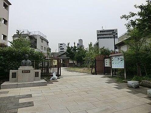 マンション(建物全部)-新宿区市谷薬王寺町 周辺環境:漱石公園