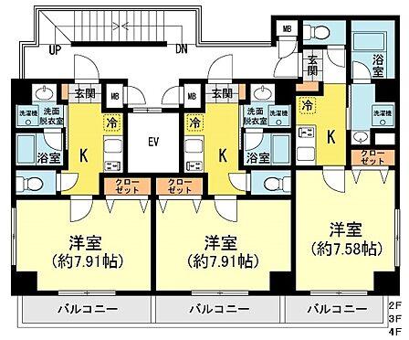 マンション(建物全部)-江東区佐賀2丁目 間取り