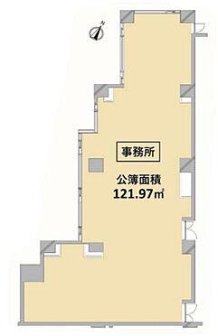 事務所(建物一部)-千代田区一番町 間取り
