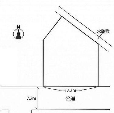 土地-川崎市多摩区登戸 区画図