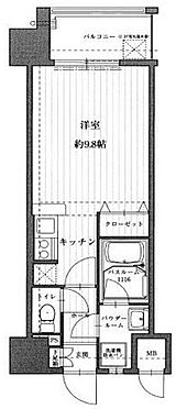 マンション(建物一部)-福岡市中央区地行2丁目 間取り