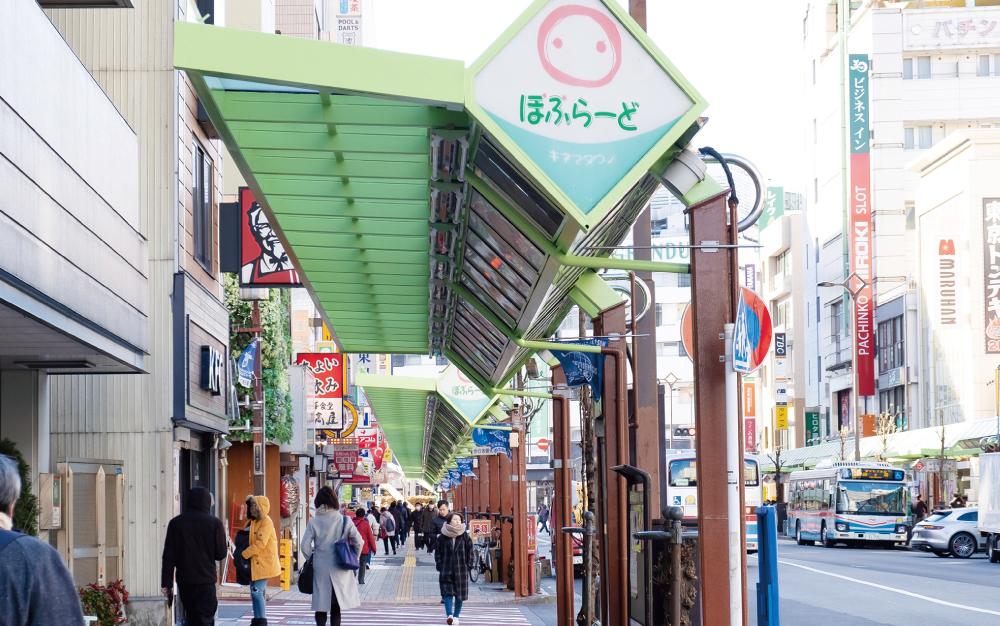 蒲田東口商店街 約300m(徒歩4分)
