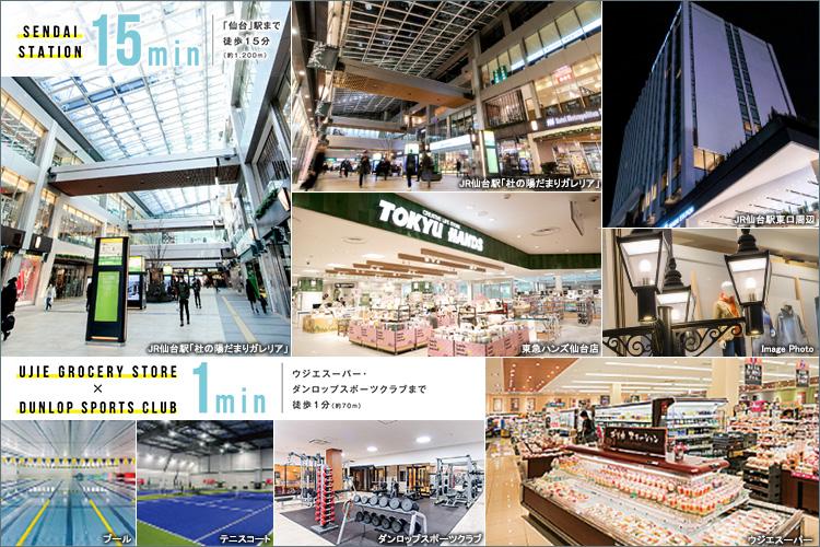◆再開発の先駆けとして誕生した、「エスパル仙台 東館」