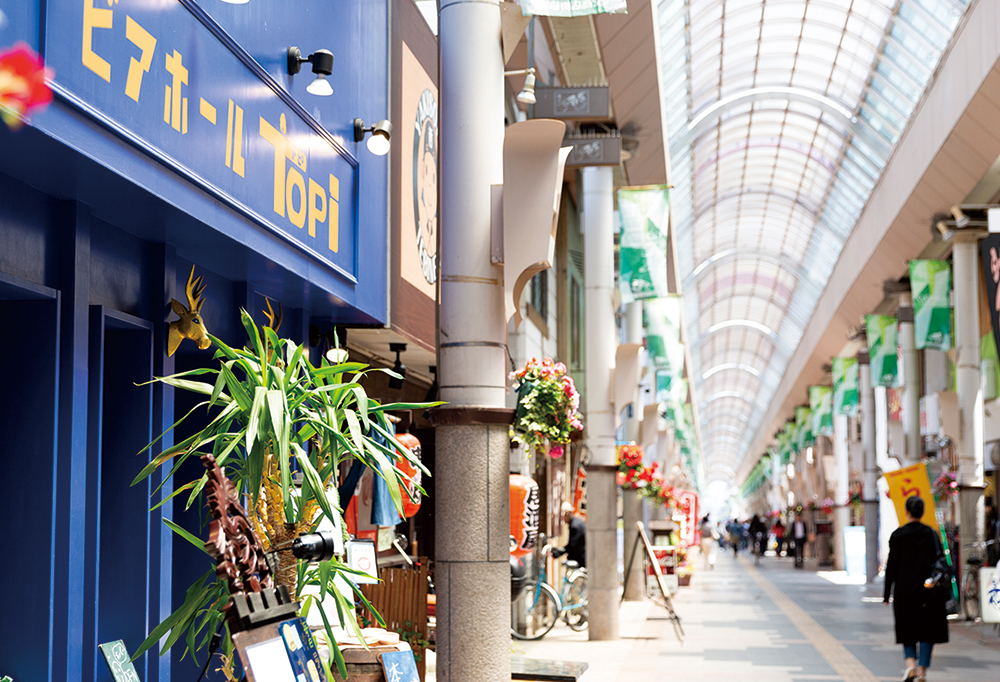 権堂商店街 約190m(徒歩3分)