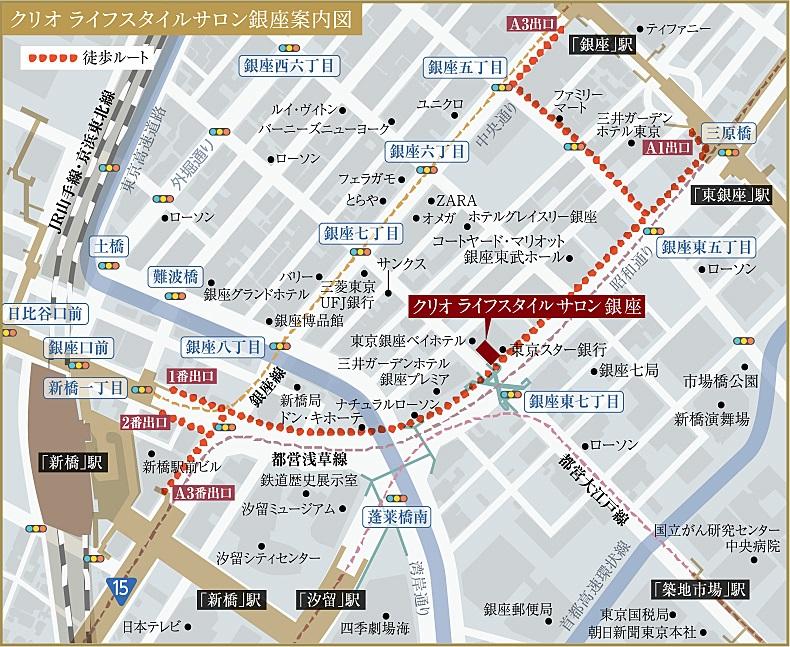 クリオ ラベルヴィ上野松が谷:モデルルーム地図