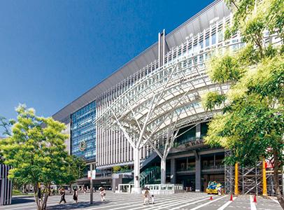 JR博多駅 約4.7km(車17分)