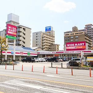 ワイドマートドラッグ&フード新町店 約80m(徒歩1分)