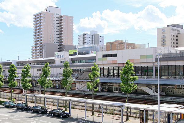JR宇都宮駅 約1,180m(徒歩15分)