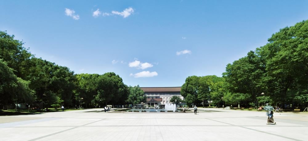 東京国立博物館 約990m(徒歩13分)