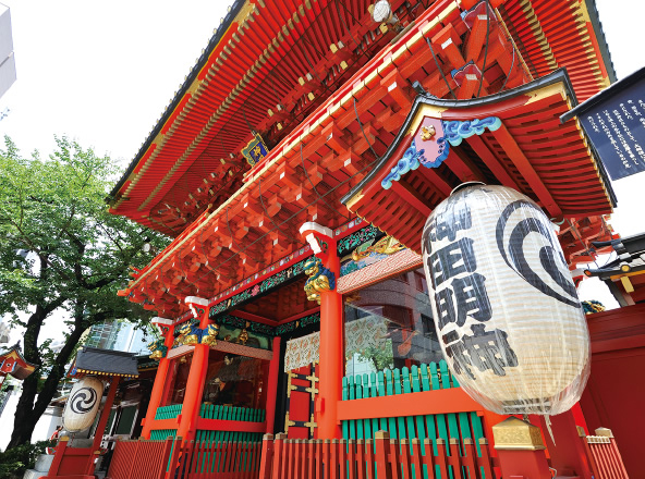 神田神社(神田明神) 約1,460m(徒歩19分)