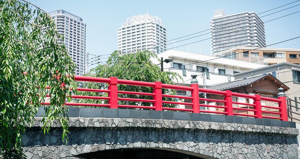 佃小橋 約350m(徒歩5分)