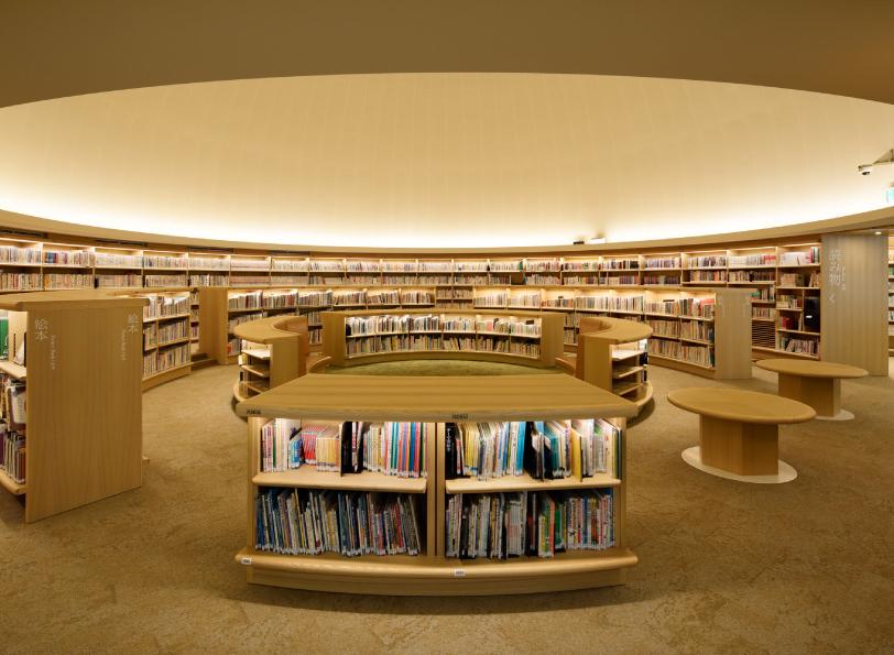 海老名市立中央図書館 約220m(徒歩3分)