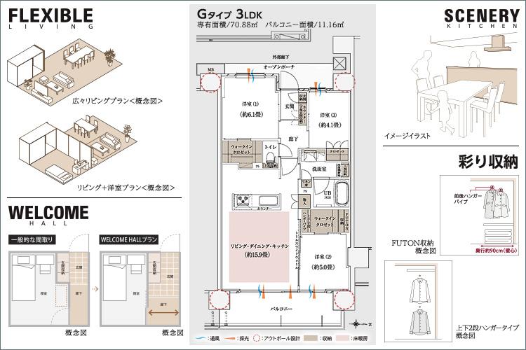 ■確かなクオリティの融合で描く、都市邸宅の新基準