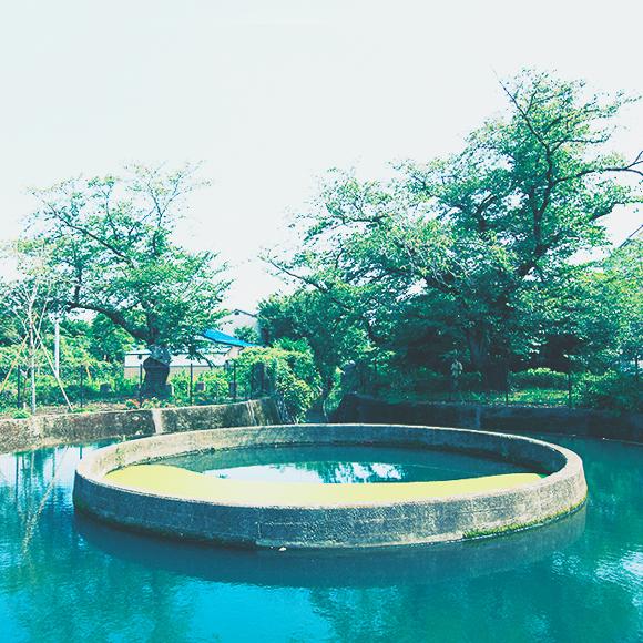 二ヶ領用水久地円筒分水 約620m(徒歩8分)