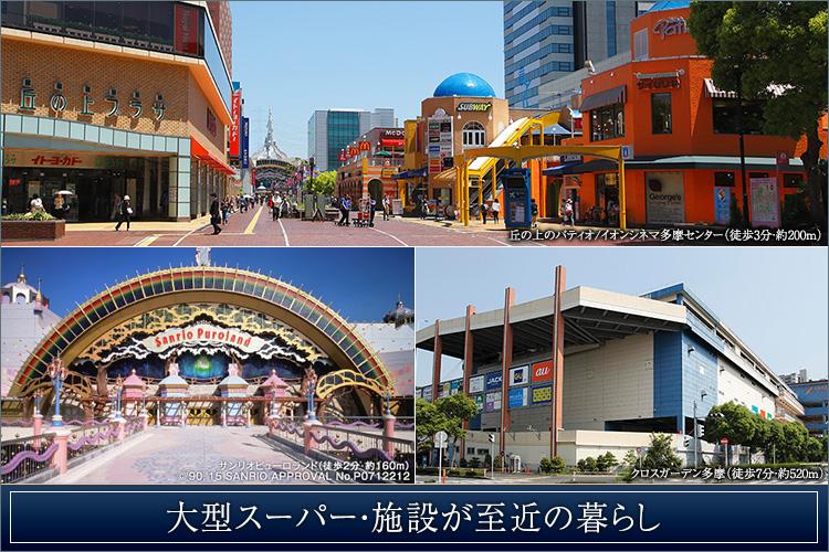 3駅3路線利用可能。新宿へ直通29分。