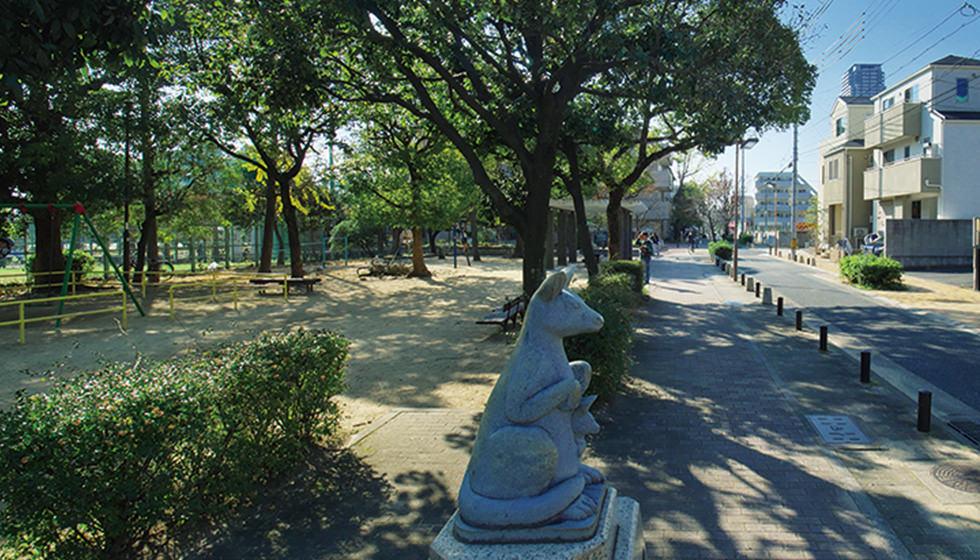 住吉宮町公園 約180m(徒歩3分)