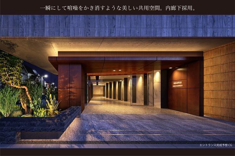 ■どこまでも上質で、気品あるエントランス空間と内廊下。