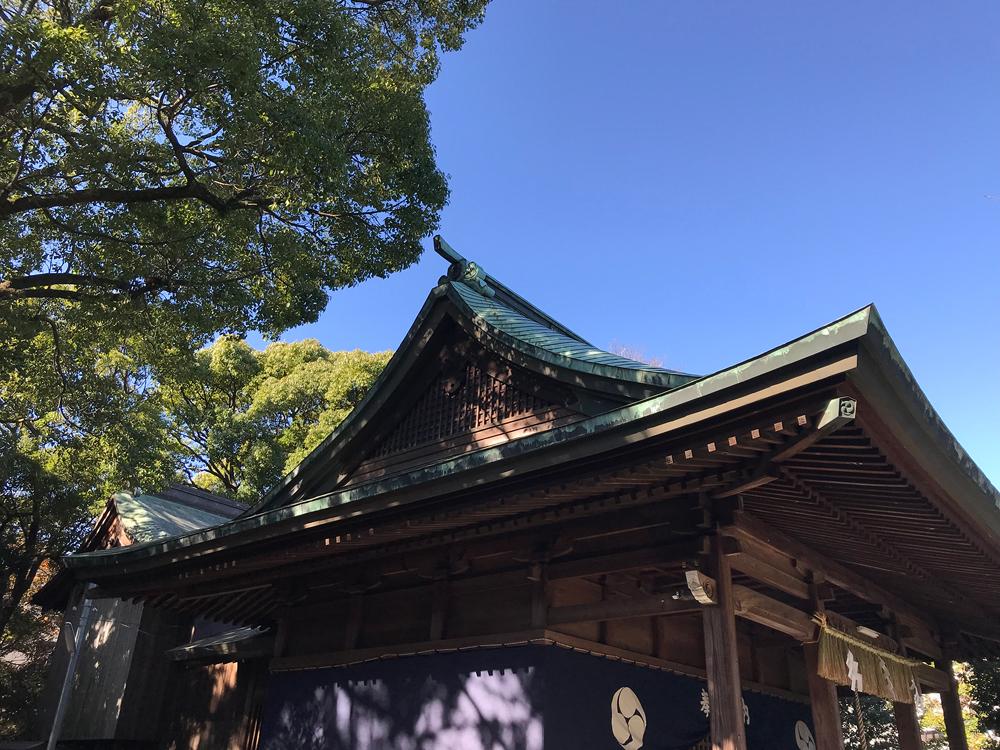平尾八幡宮 約160m(徒歩2分)