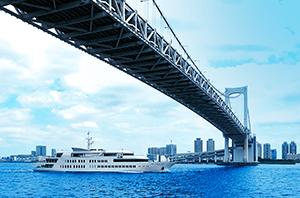 シンフォニー東京湾クルーズ 約240m(徒歩3分)