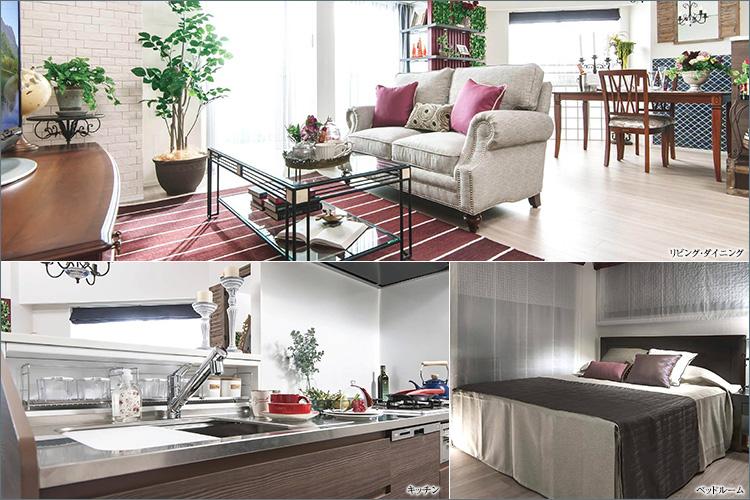 アンダルシア・コンセプトのインテリアを施したエレガントで開放感のある空間。