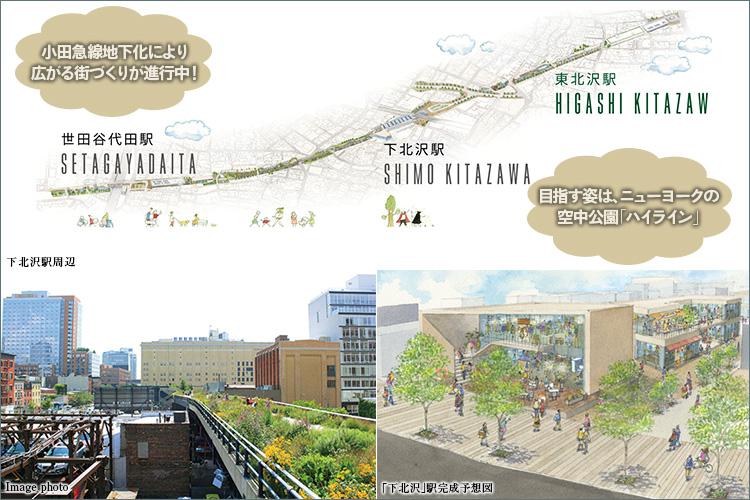 ■小田急線地下化により広がる街づくりが進行中!