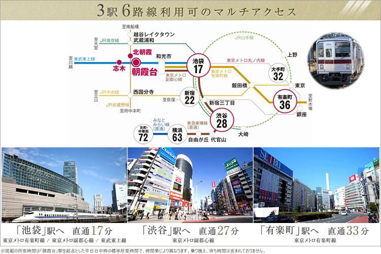 最寄駅は東武東上線快速停車駅「朝霞台」駅。