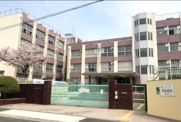 市立墨江丘中学校 約1,200m(徒歩15分)