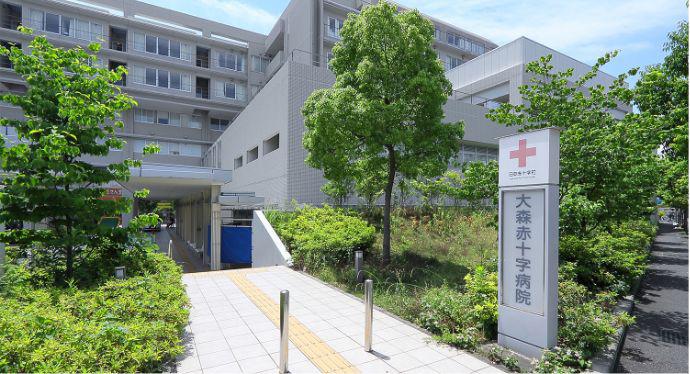 大森赤十字病院 約1,490m(徒歩19分)