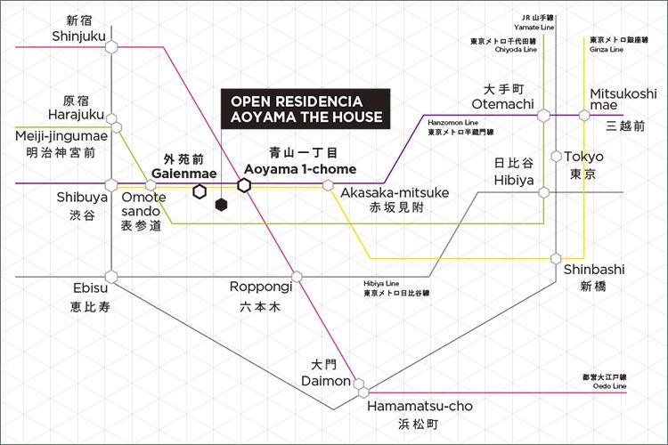 ■2駅3路線のマルチアクセス