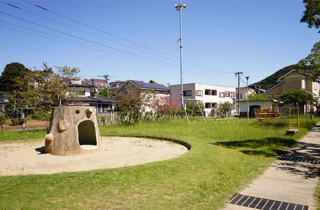 化屋公園 約370m(徒歩5分)