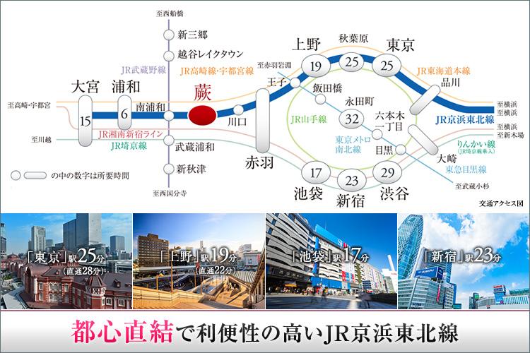 ■一人暮らしするなら、駅にも都心にも近くが良い。