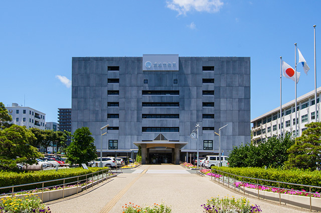 浜松市役所・中区役所 約780m(徒歩10分)