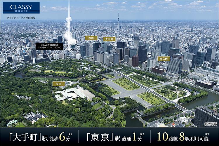 東京らしい東京に出会える歓び。